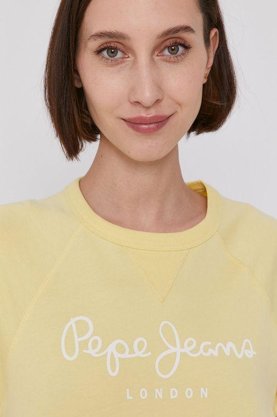 żółty Pepe Jeans - T-shirt GALA