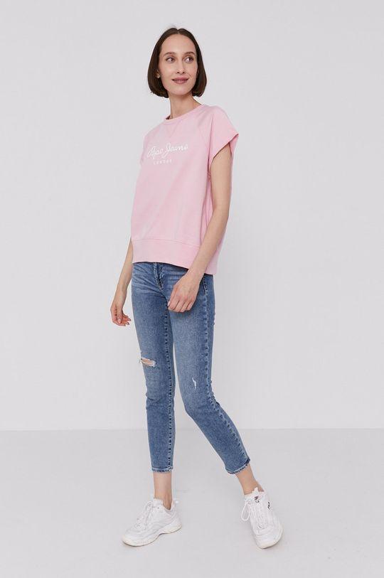 Pepe Jeans - T-shirt GALA różowy