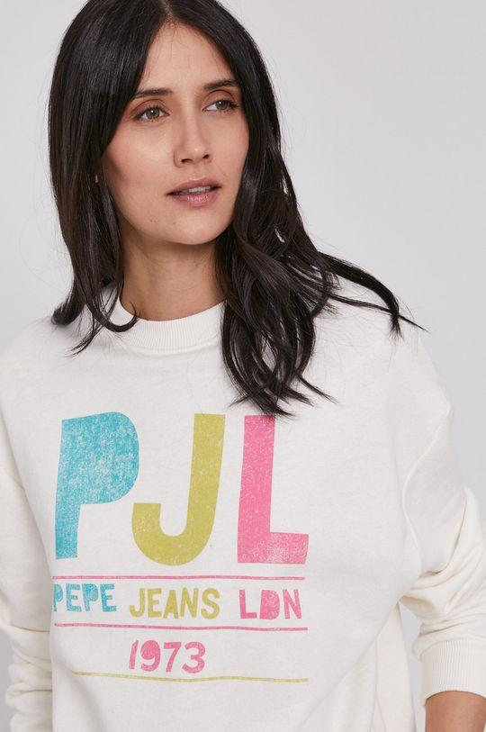 kremowy Pepe Jeans - Bluza Demi