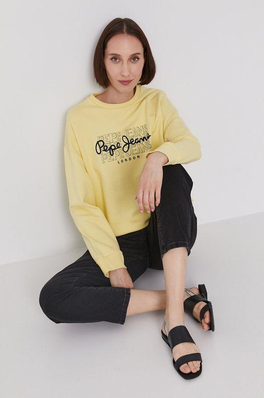 žlutá Pepe Jeans - Mikina BERE Dámský