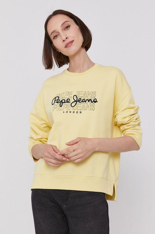 Pepe Jeans - Mikina BERE žlutá