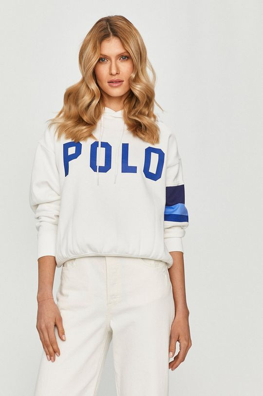 biały Polo Ralph Lauren - Bluza Damski