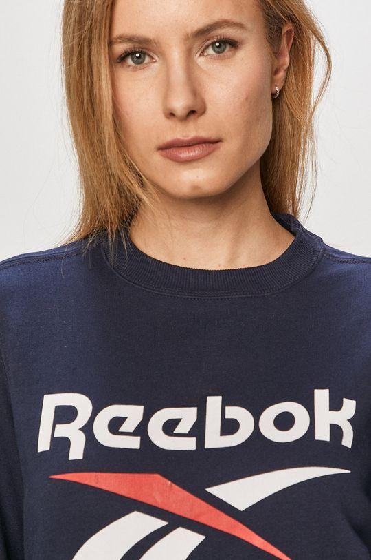 tmavomodrá Reebok - Mikina