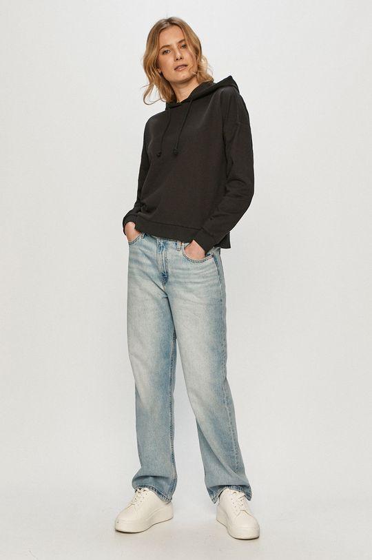 Vero Moda - Bluza negru