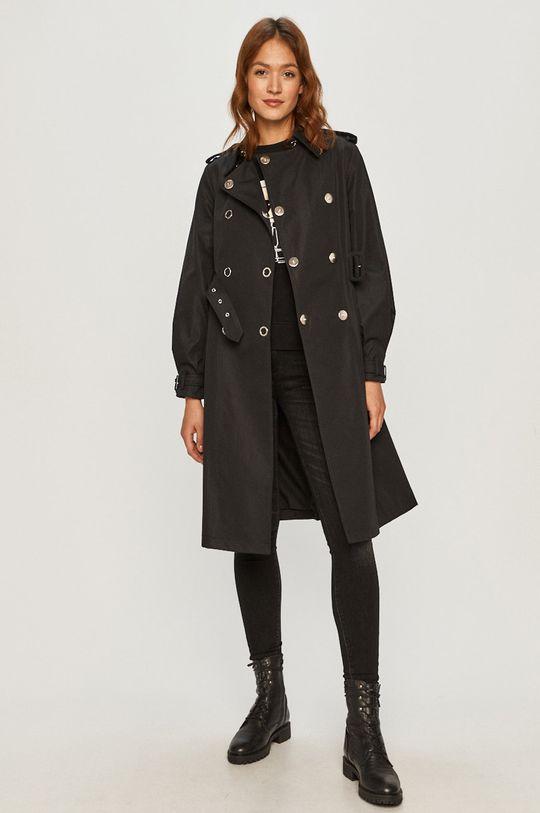 Karl Lagerfeld - Bluza bawełniana czarny