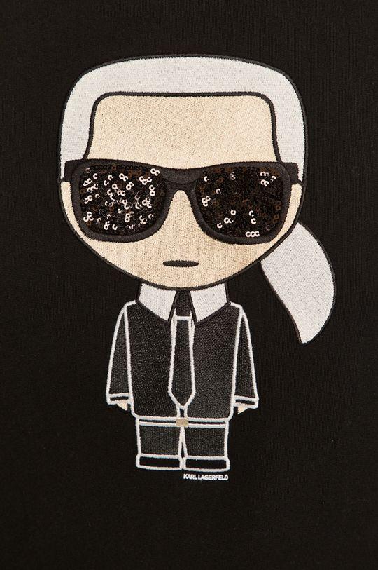 Karl Lagerfeld - Bluza bawełniana Damski