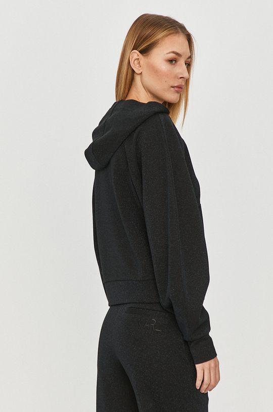 Karl Lagerfeld - Bluza 28 % Poliester, 66 % Wiskoza, 6 % Włókno metaliczne