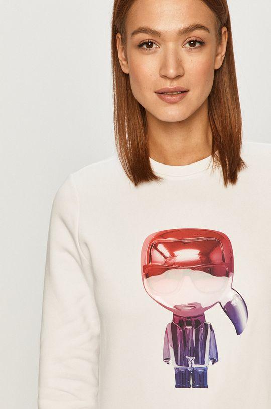 biały Karl Lagerfeld - Bluza