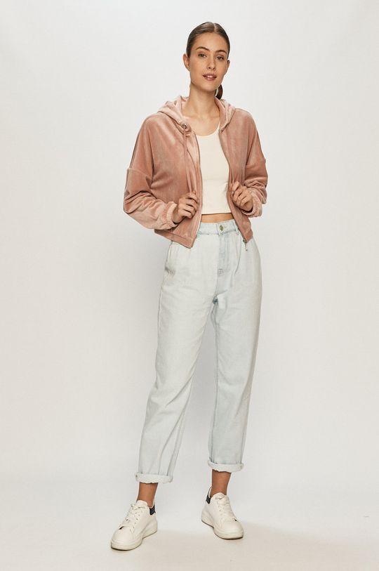 Only - Bluza fiołkowo różowy