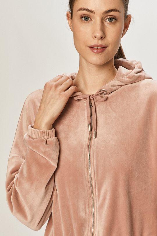 fiołkowo różowy Only - Bluza