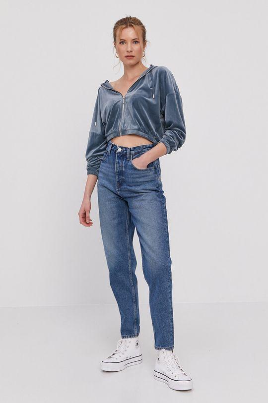 Only - Bluza stalowy niebieski