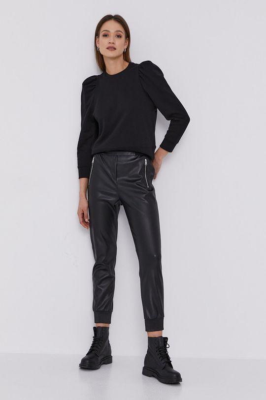 Karl Lagerfeld - Bavlnená mikina čierna