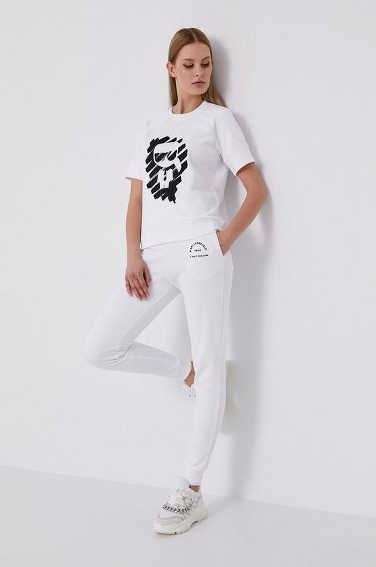 Karl Lagerfeld - Bluza biały
