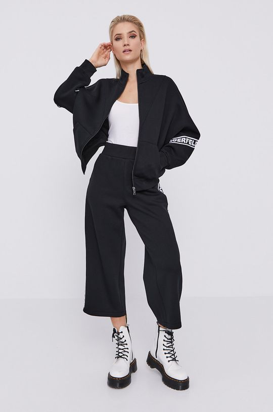 Karl Lagerfeld - Mikina  Podšívka: 100% Bavlna Základná látka: 100% Viskóza
