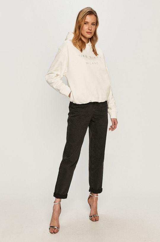 Miss Sixty - Bluza bawełniana biały