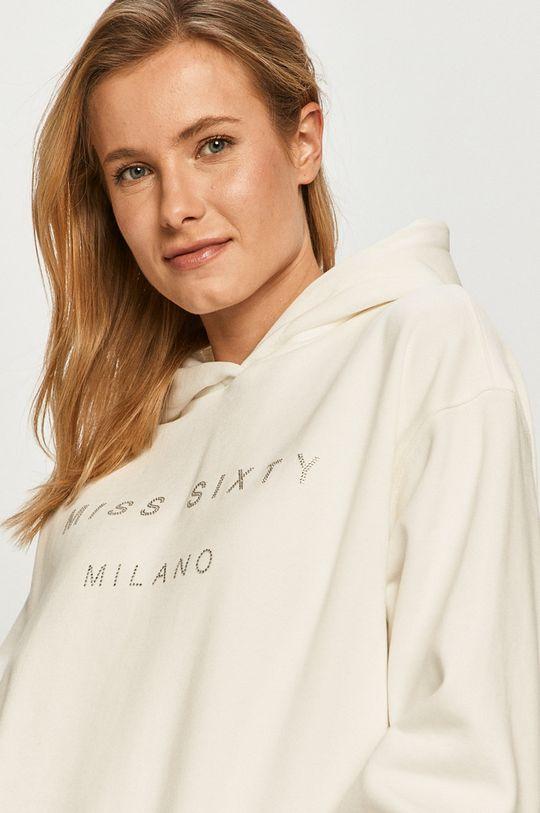 biały Miss Sixty - Bluza bawełniana