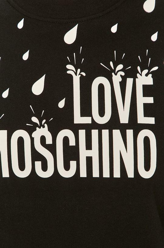 Love Moschino - Bavlnená mikina Dámsky