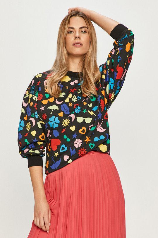 multicolor Love Moschino - Bluza bawełniana Damski