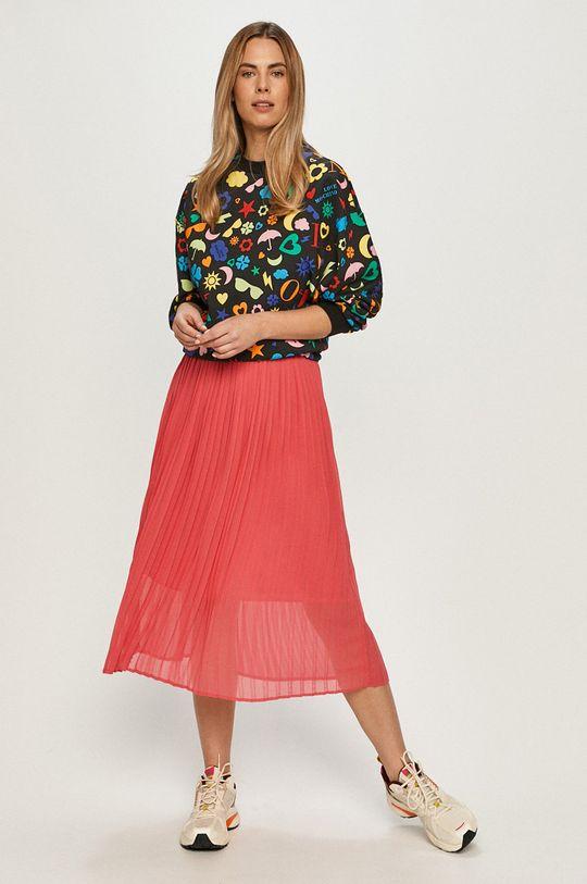 Love Moschino - Bluza bawełniana multicolor