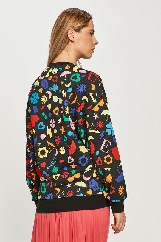 Love Moschino - Bluza bawełniana Materiał zasadniczy: 100 % Bawełna, Ściągacz: 99 % Bawełna, 1 % Elastan