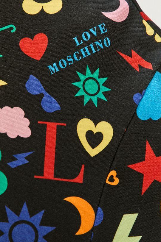 Love Moschino - Bluza bawełniana Damski