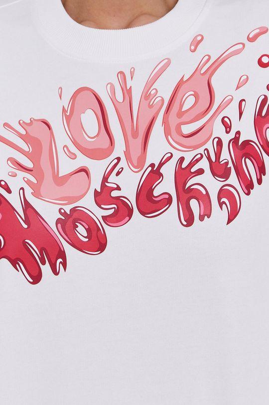 Love Moschino - Bluzka bawełniana Damski