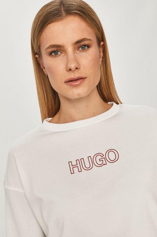 alb Hugo - Hanorac de bumbac