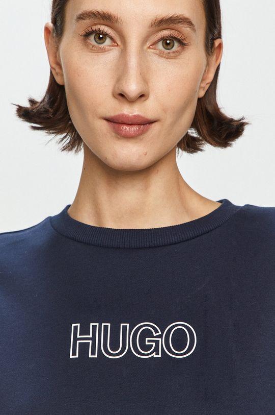 námořnická modř Hugo - Bavlněná mikina