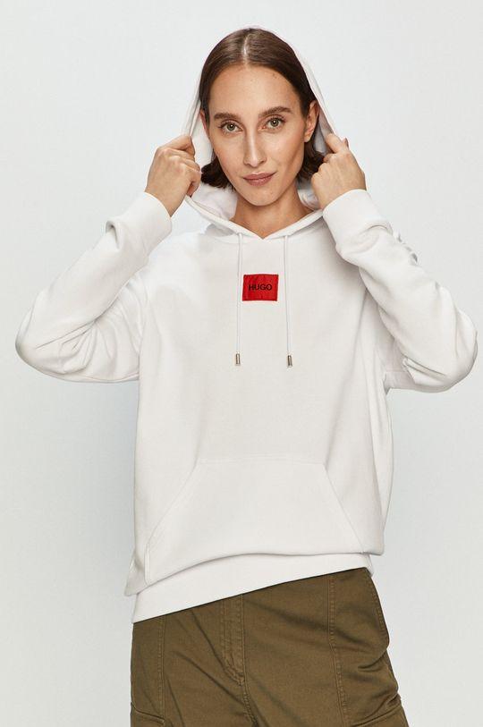 biały Hugo - Bluza bawełniana Damski