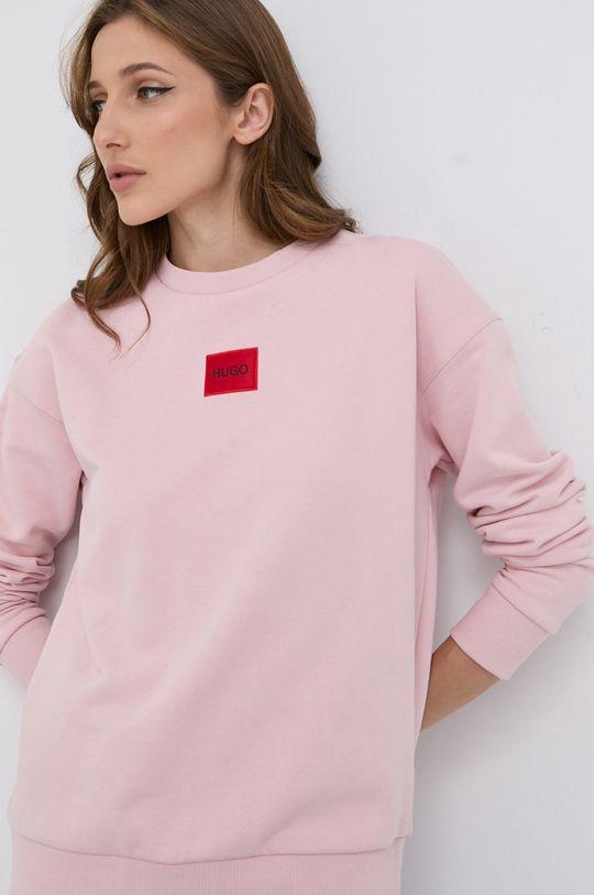 różowy HUGO - Bluza 50455971