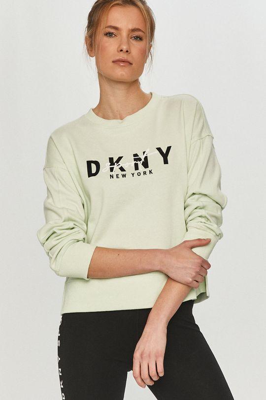 zielony Dkny - Bluza Damski