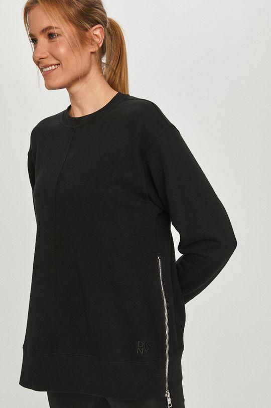čierna Dkny - Bavlnená mikina
