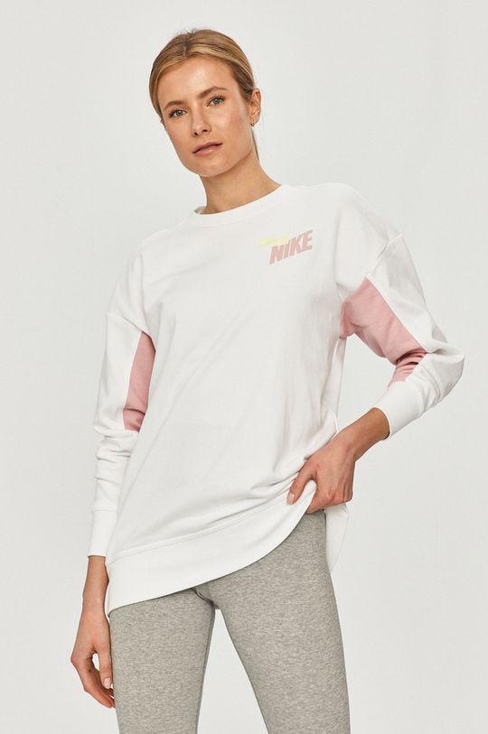 biały Nike - Bluza Damski