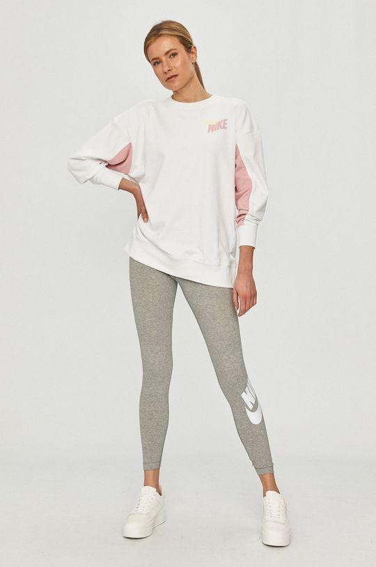 Nike - Bluza biały