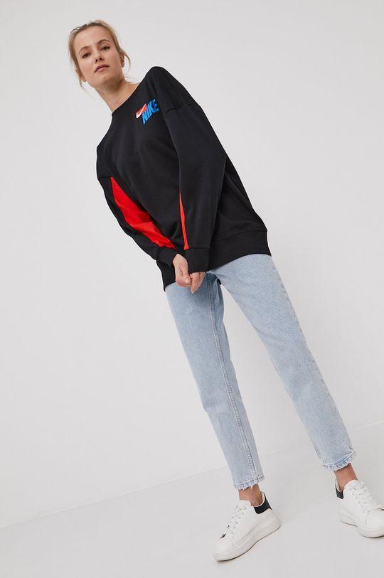 czarny Nike - Bluza Damski