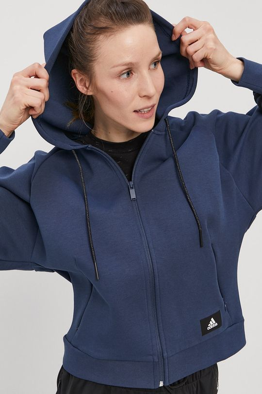 bleumarin adidas Performance - Bluza De femei