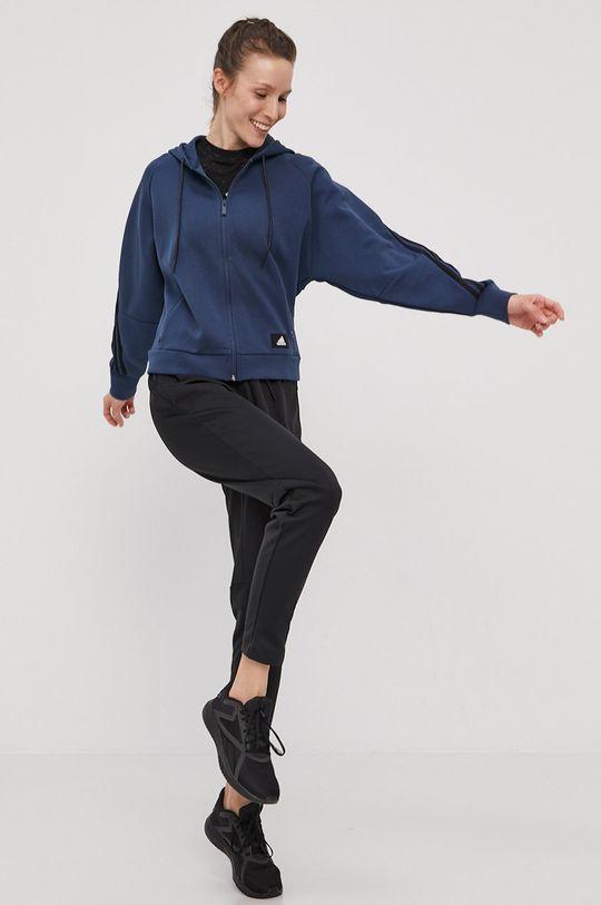 adidas Performance - Bluza bleumarin