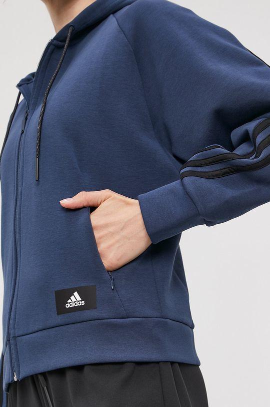 bleumarin adidas Performance - Bluza