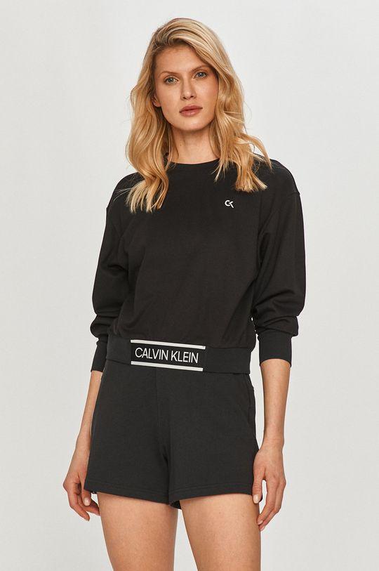 čierna Calvin Klein Performance - Mikina Dámsky