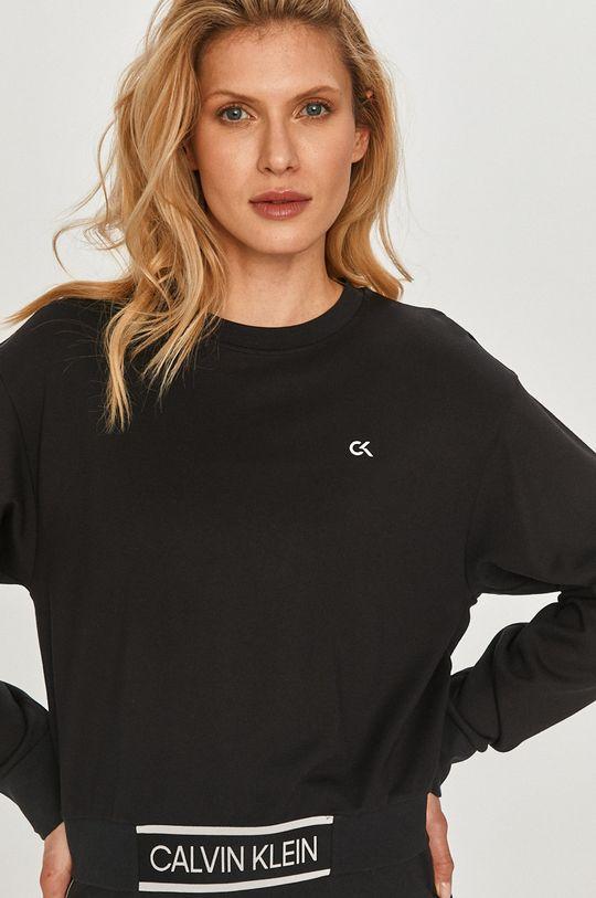 čierna Calvin Klein Performance - Mikina