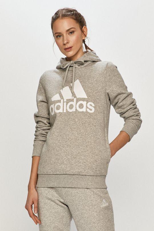 světle šedá adidas - Mikina Dámský