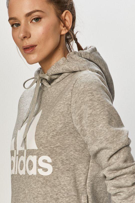 světle šedá adidas - Mikina