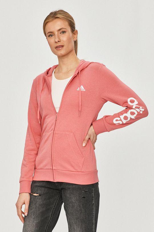 ярко-розовый adidas - Кофта Женский