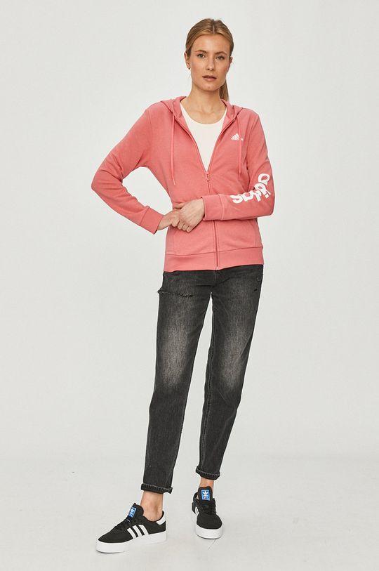 adidas - Кофта ярко-розовый