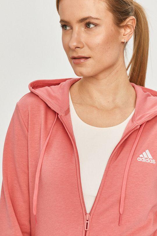 ярко-розовый adidas - Кофта