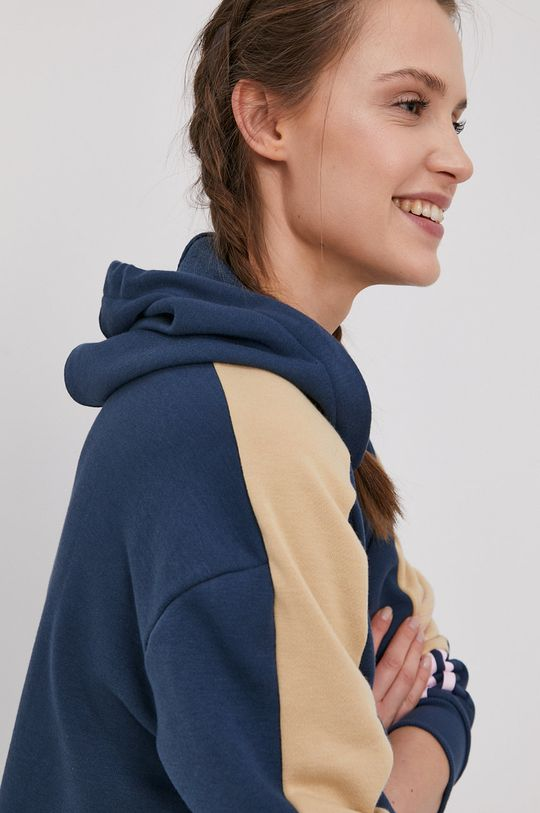 granatowy adidas - Bluza