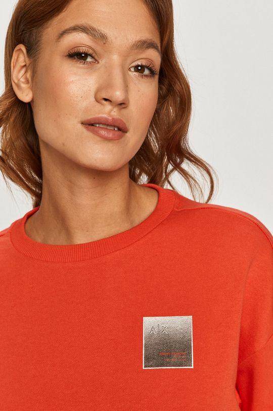 czerwony Armani Exchange - Bluza