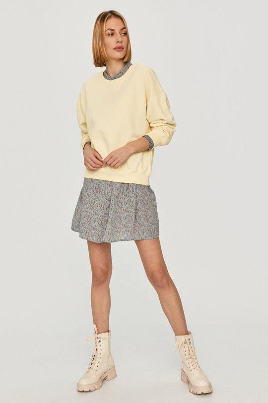 Only - Bluza żółty