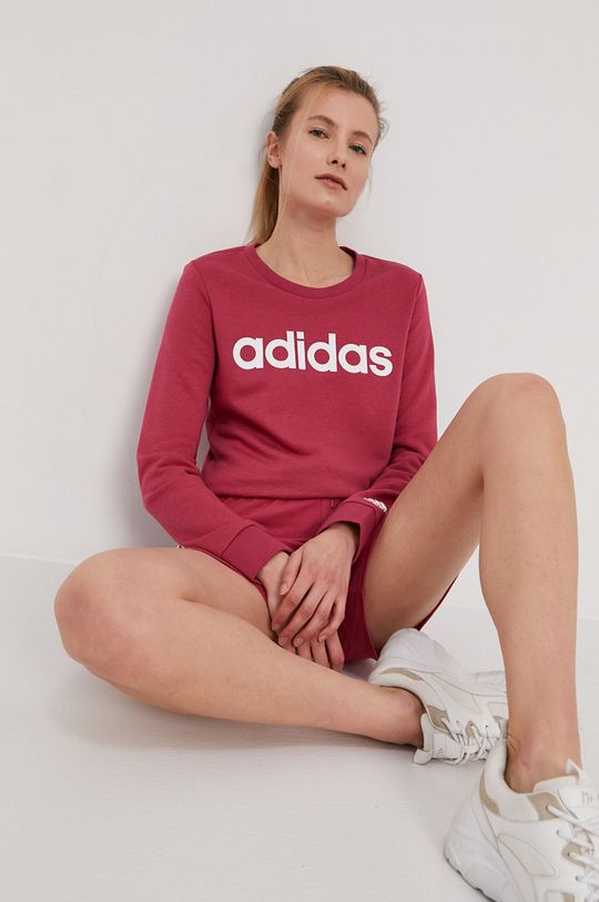 ružová adidas - Mikina Dámsky