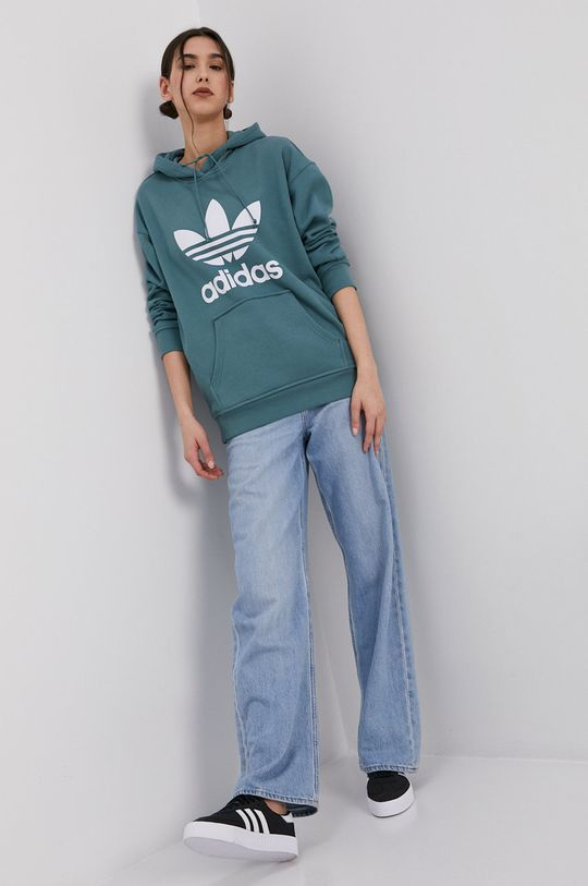 adidas Originals - Bluza bawełniana cyraneczka